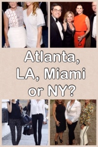 We scoured the web for fun pictures of socialites from different cities. Can you tell which city each picture is from by their style?