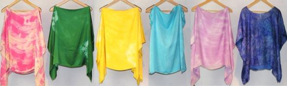 Handmade Silk Tops