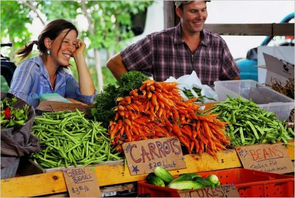 Atlanta Farmer's Markets Rock - photo courtesy of oneiloneating.com