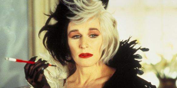 Glenn Close as Cruella Deville is who these women remind me of!