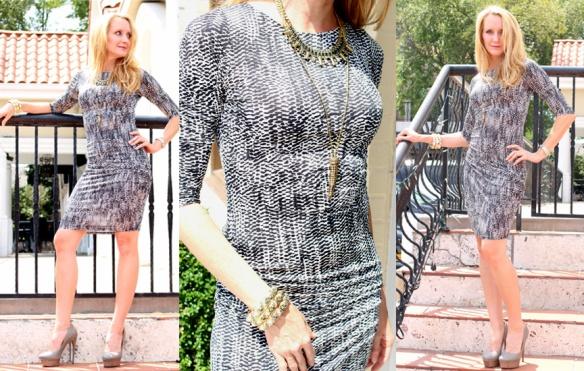Veronica M - animal print dress-fall fashion 2014
